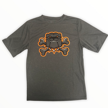 Crossbones Bulldog Tee-Adult