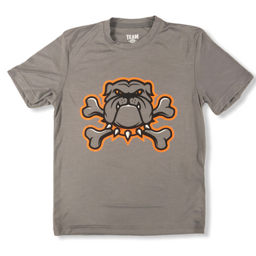 Youth Crossbones Bulldog Tee