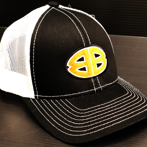 Double B Platinum White Back Trucker Hat