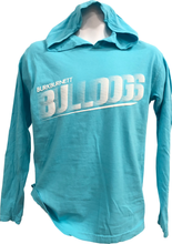Load image into Gallery viewer, Comfort Colors Dot Tone Bulldog Hoodie Long Sleeve Tee