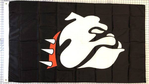 Bulldog Flag - Black