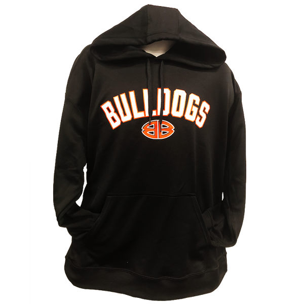 Performance Black Bulldog Double B Hoodie