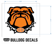 Load image into Gallery viewer, Bulldog Decal-Front Facing