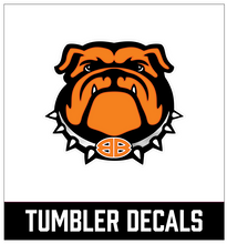 Load image into Gallery viewer, Bulldog Tumbler Decal