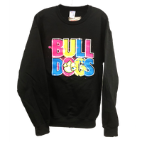 Neon Print Adult Sweat Shirt