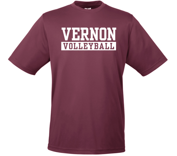 Vernon Volleyball Fundraiser Tee
