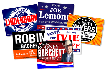 Yard Signs - Full Color