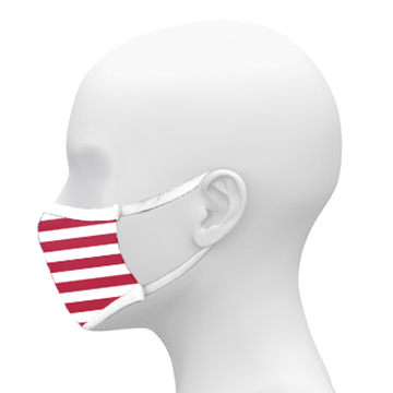 3-Ply American Flag Mask