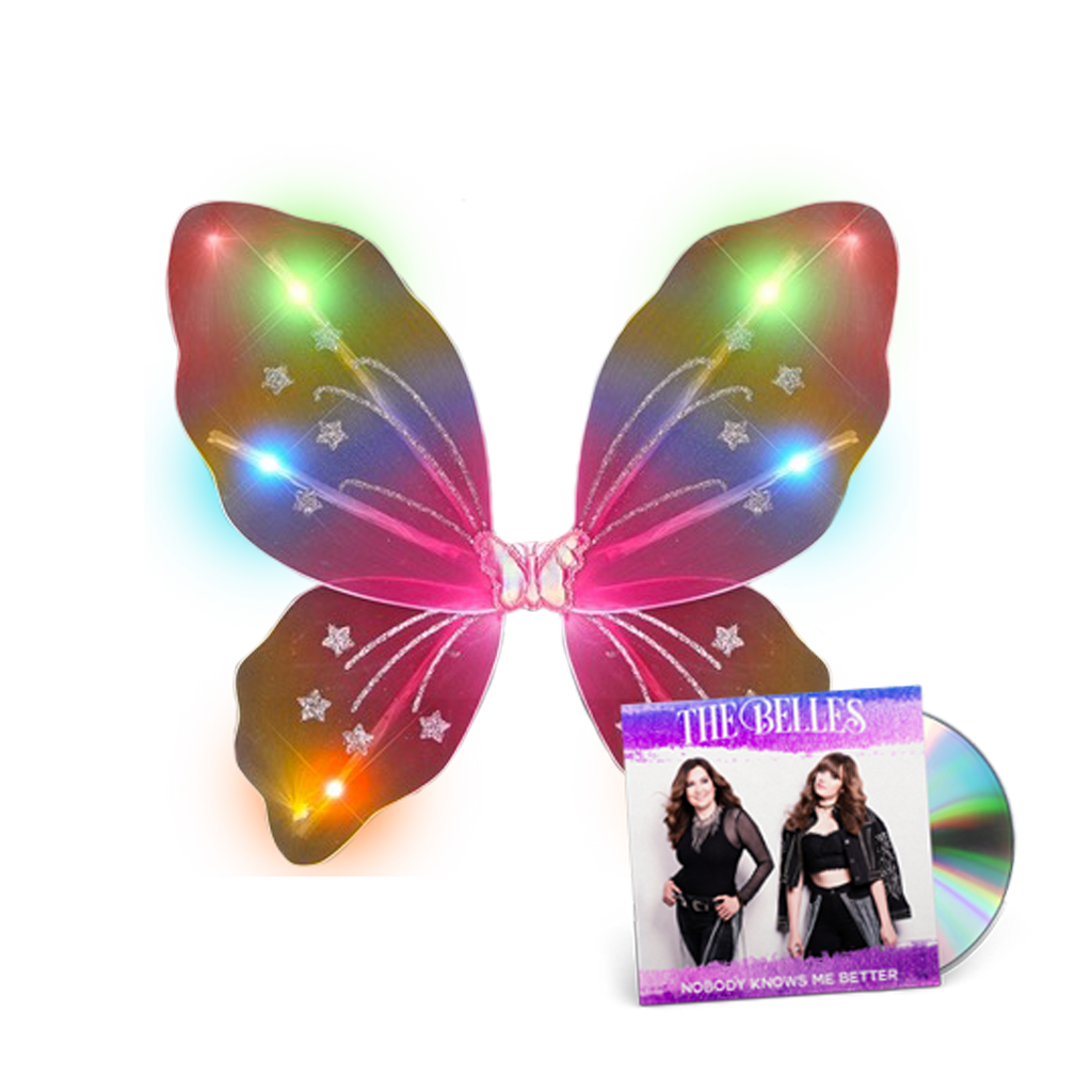 Light Up Butterfly Wings + Autographed EP Bundle