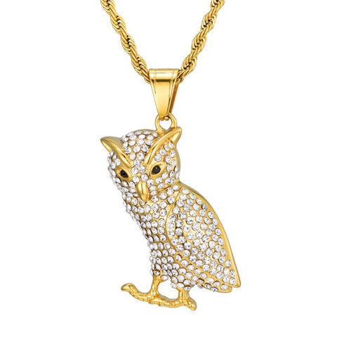 Iced Out Owl