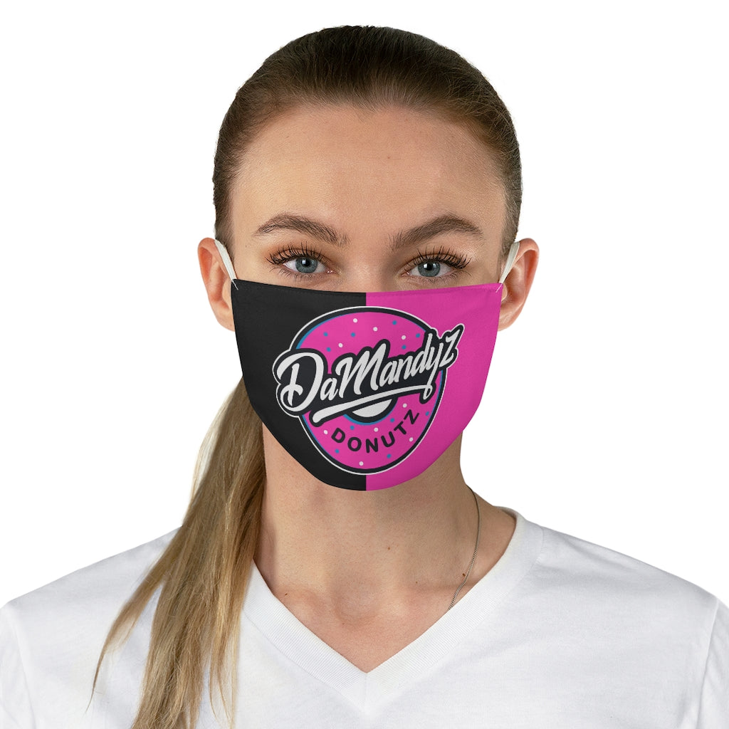 DaMandyz Big Donutz Logo Fabric Face Mask