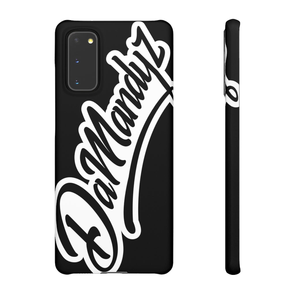 DaMandyz Script Logo Snap Cases