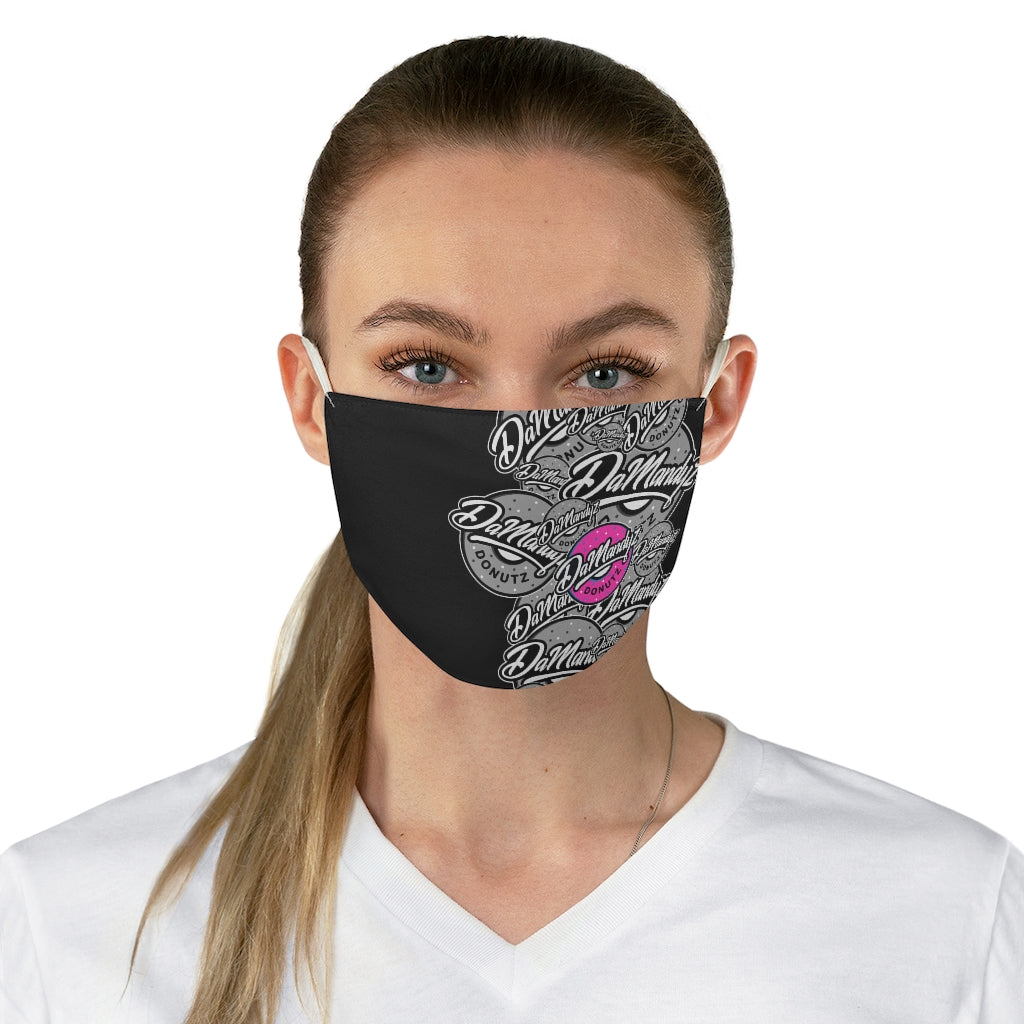 DaMandyz Overlap Logos Fabric Face Mask