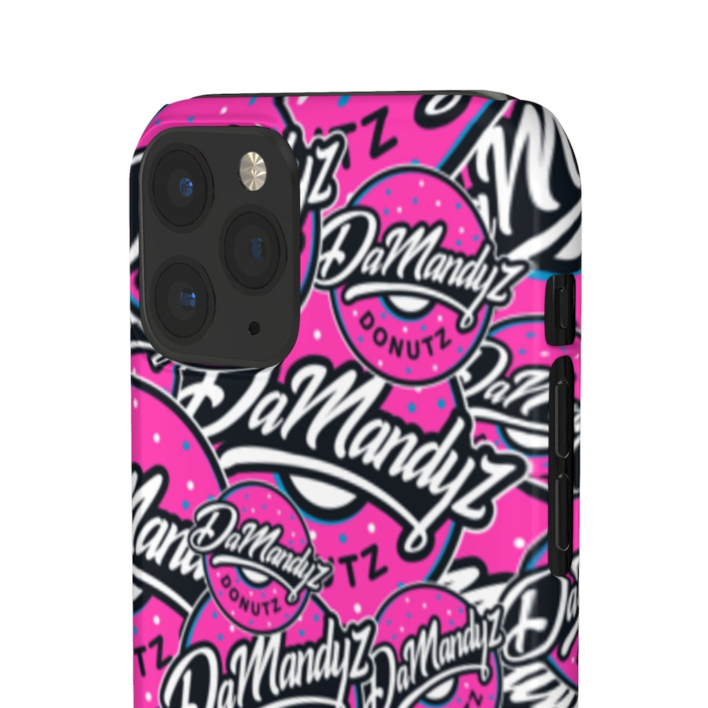 DaMandyz Donutz Cell Phone Pro Snap Cases