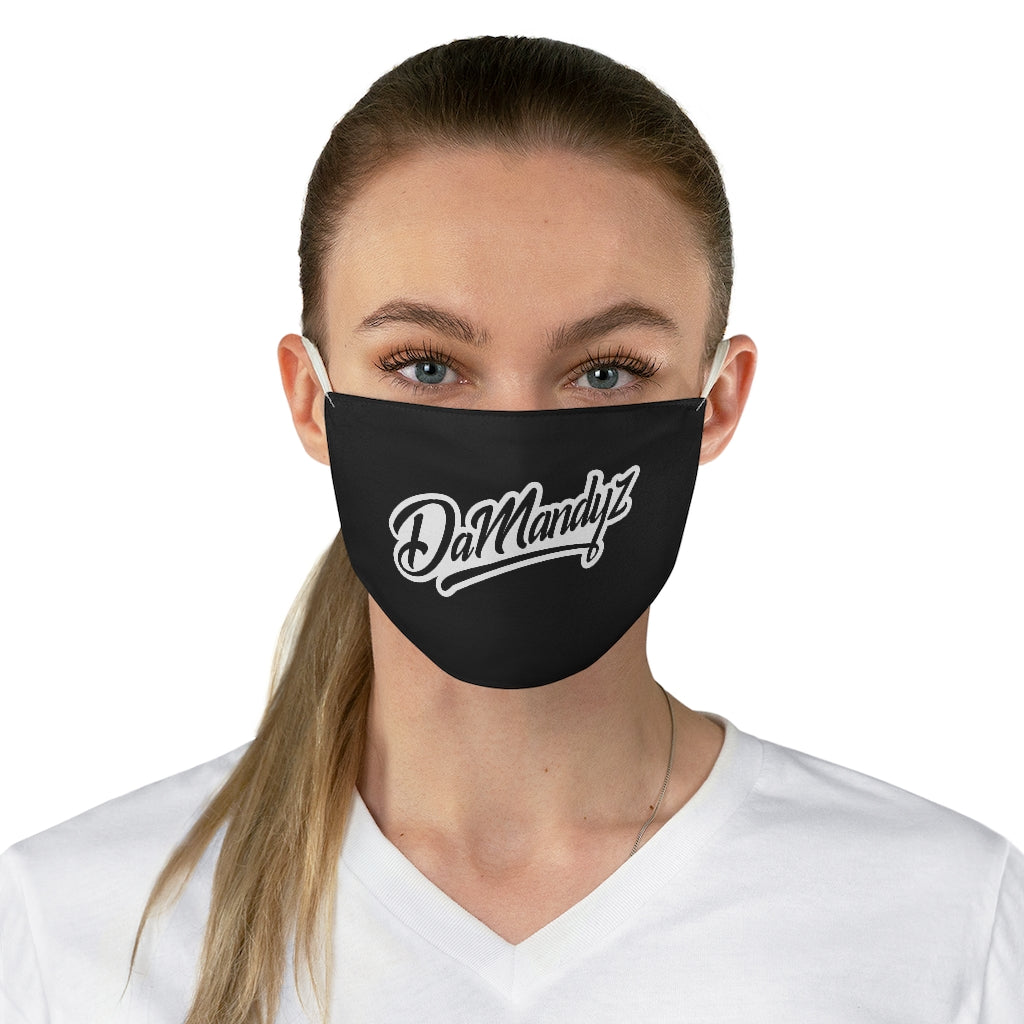 DaMandyz Wordmark Logo Fabric Face Mask