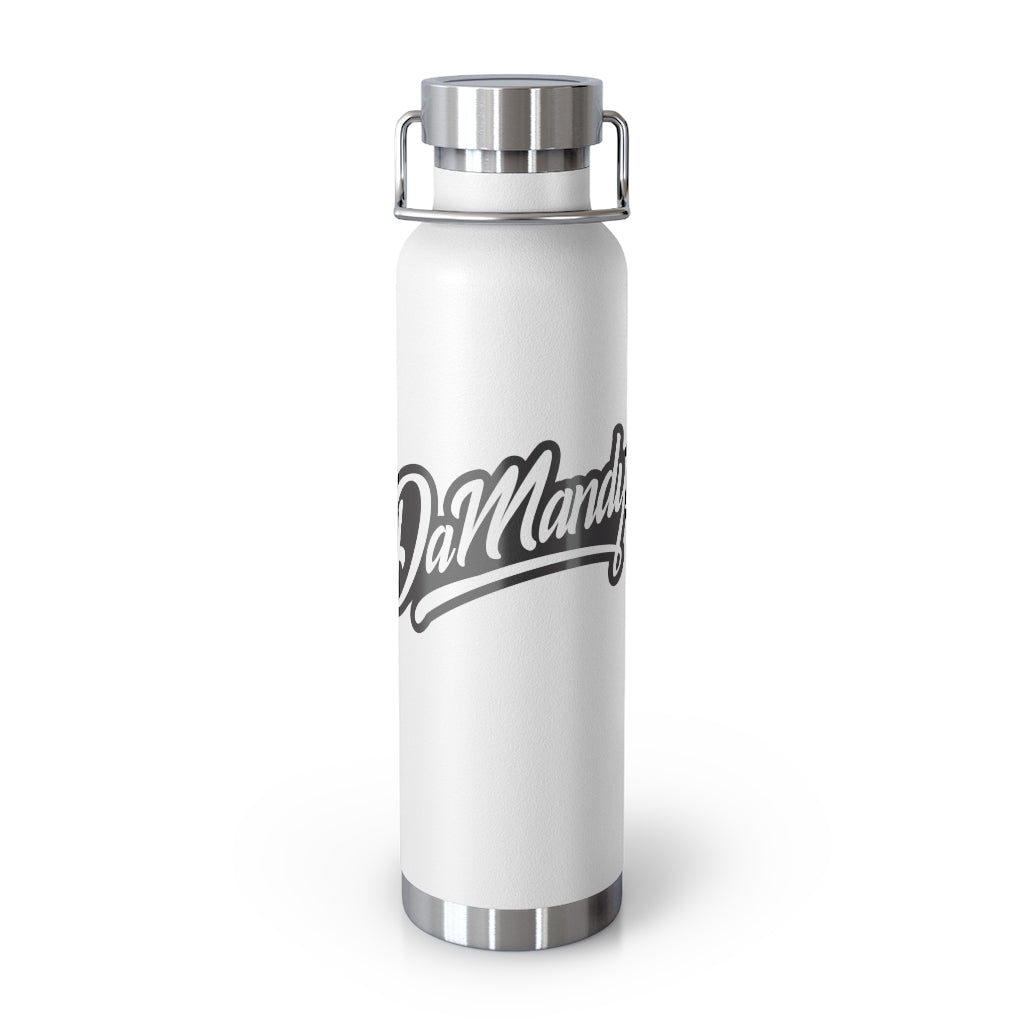 Damandyz White 22oz Vacuum Insulated Bottle
