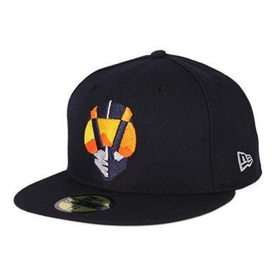 Kids' Las Vegas Aviators New Era On-Field Home Navy 59Fifty Fitted Hat