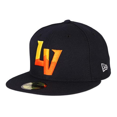 Kids' Las Vegas Aviators New Era On-Field Road Navy 59Fifty Fitted Hat