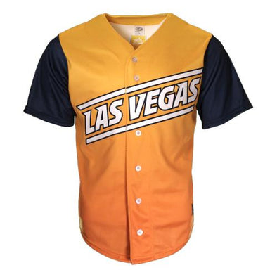 Men's Las Vegas Aviators OT Sports Road Alternate Gradient/Blue Replica Jersey