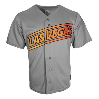 Men's Las Vegas Aviators OT Sports Road Gray Replica Jersey
