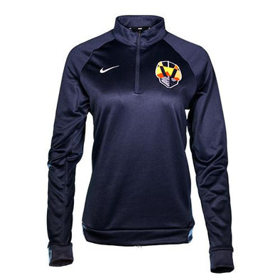 Women's Las Vegas Aviators Nike Aviator Navy Therma-Fit 1/4 Zip Jacket