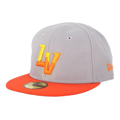 Infants' Las Vegas Aviators New Era On-Field Alternate My 1st Gray/Orange 59Fifty Fitted Hat