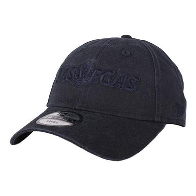 Las Vegas Aviators New Era Las Vegas Lettering Navy Core Tonal 49Forty Fitted Hat