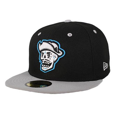Kids' Las Vegas Reyes de Plata New Era On-Field Home 59Fifty Black/Gray Fitted Hat