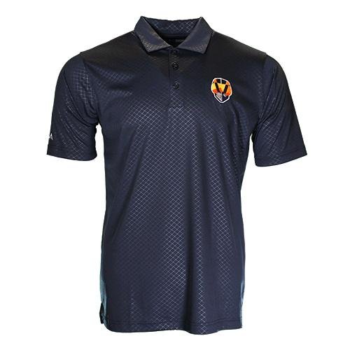Men's Las Vegas Aviators Antigua Aviator Inspire Navy Short Sleeve Polo