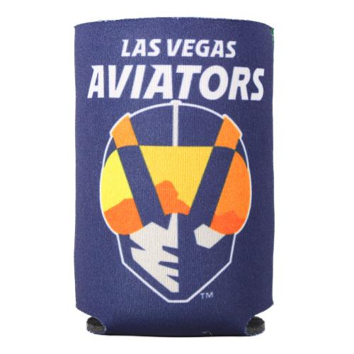 Las Vegas Aviators Wincraft Primary Logo A's Navy/Green Can Cooler