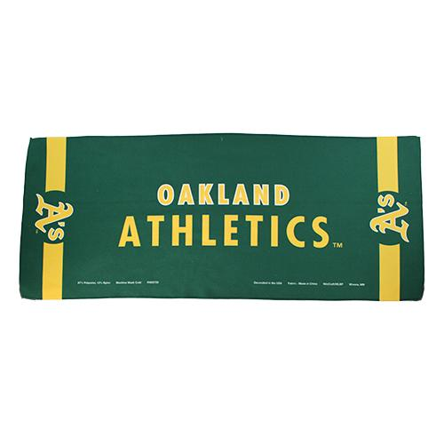 Las Vegas Aviators Oakland Athletics Wincraft Gold/Green 2-Sided Cooling Towel