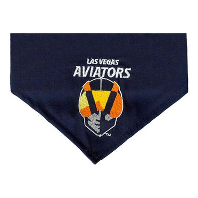 Pets' Las Vegas Aviators All Star Dogs Primary Logo Navy Bandana