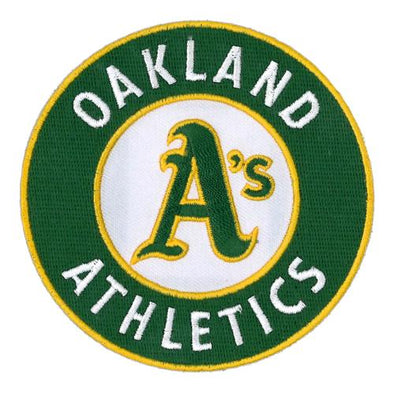 Oakland Athletics Emblem Source Primary Logo Patch