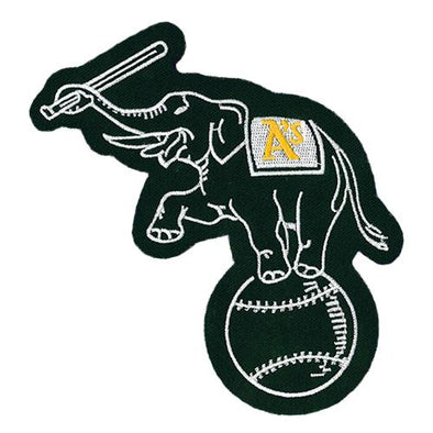Oakland Athletics Emblem Source Elephant Patch