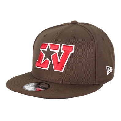 Las Vegas Stars New Era Brown/Red 9Fifty Snapback Hat
