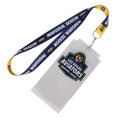 Las Vegas Aviators Wincraft 2019 Inaugural Season Lanyard With Ticket Pouch