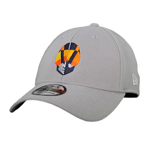 Las Vegas Aviators New Era Aviator Gray 39Thirty Stretch Fit Hat