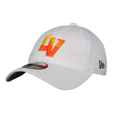 Las Vegas Aviators New Era LV White 9Twenty Strapback Hat