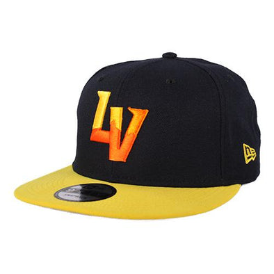Las Vegas Aviators New Era LV Navy/Yellow 9Fifty Snapback Hat
