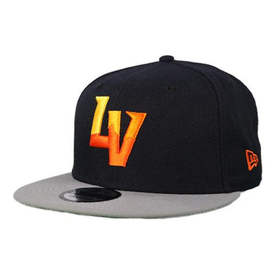 Las Vegas Aviators New Era LV Navy/Gray 9Fifty Snapback Hat