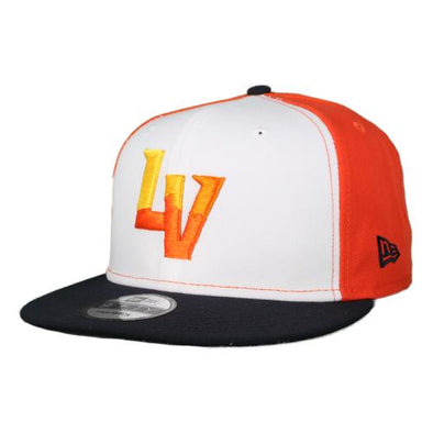 Las Vegas Aviators New Era LV Orange/White/Navy 9Fifty Snapback Hat