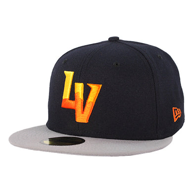 Las Vegas Aviators New Era LV Navy/Gray 59Fifty Fitted Hat