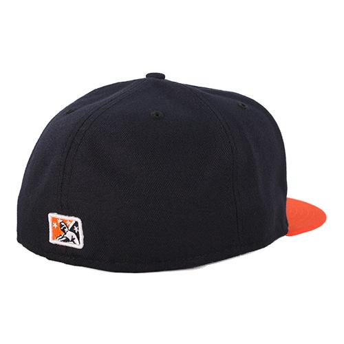 Las Vegas Aviators New Era LV Navy/Orange 59Fifty Fitted Hat