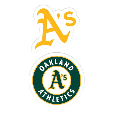 Oakland Athletics Wincraft A's/Circle Logo Decal