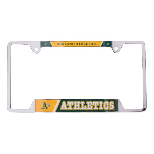 Oakland Athletics Wincraft Metal License Plate