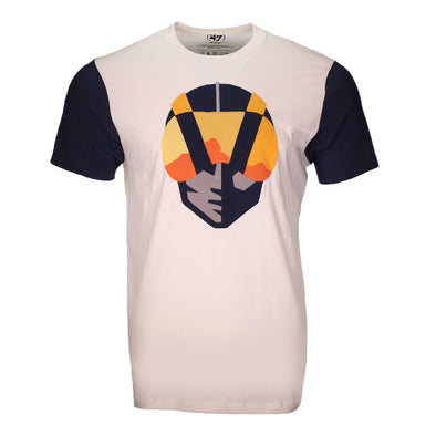 Men's Las Vegas Aviators '47 Brand Fieldhouse Aviator Sandstone/Navy Short Sleeve T-Shirt