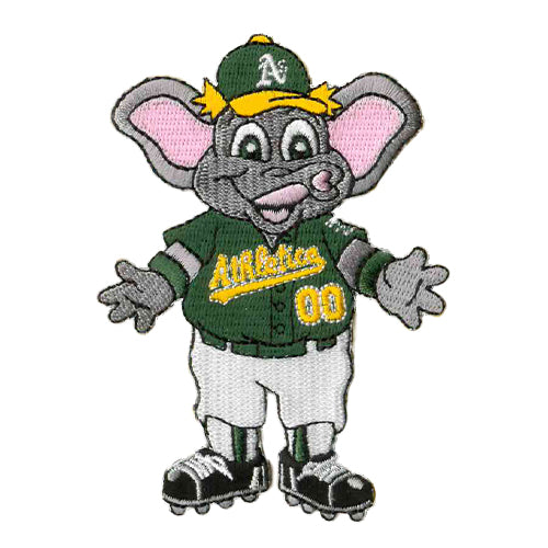 Oakland Athletics Emblem Source Mascot Patch