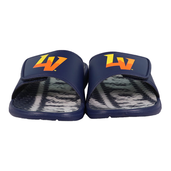 Las Vegas Aviators FOCO LV Aviators Navy Gel Slide Sandals