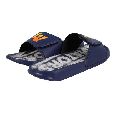 Las Vegas Aviators FOCO LV Navy Gel Slide Sandals