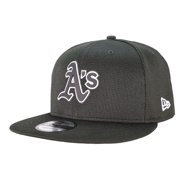 Oakland Athletics New Era Clubhouse Black 9Fifty Snapback Hat